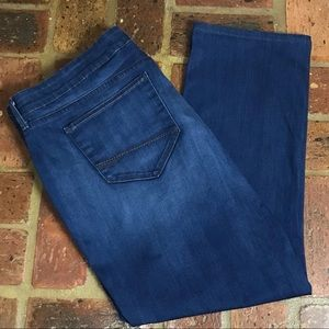 NYDJ Straight Jeans w/ Stretch - SZ 24W Short!